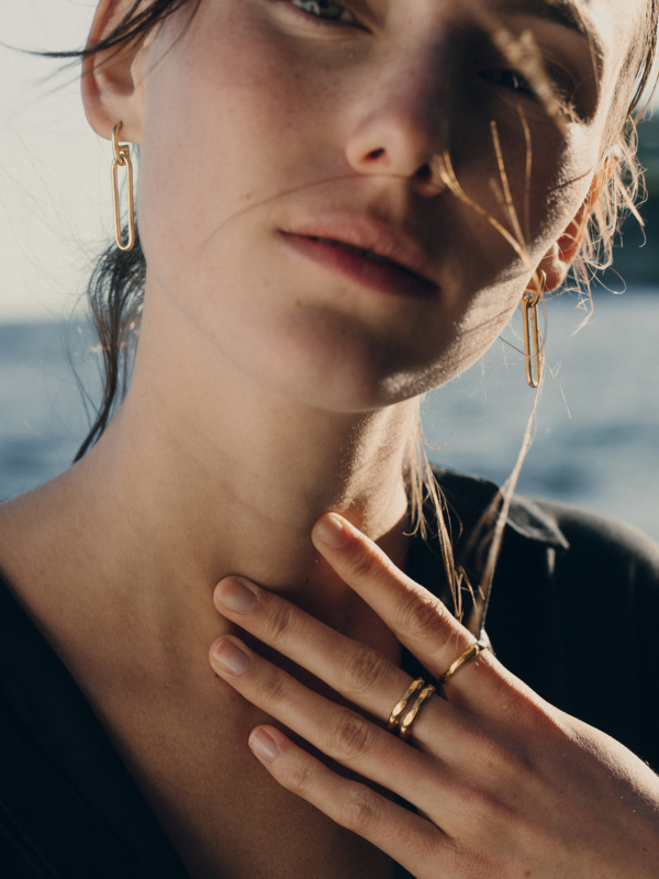Blancca - Golden Hour ring