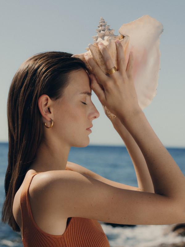 Blancca - Boucles d'oreilles Golden Hour 3