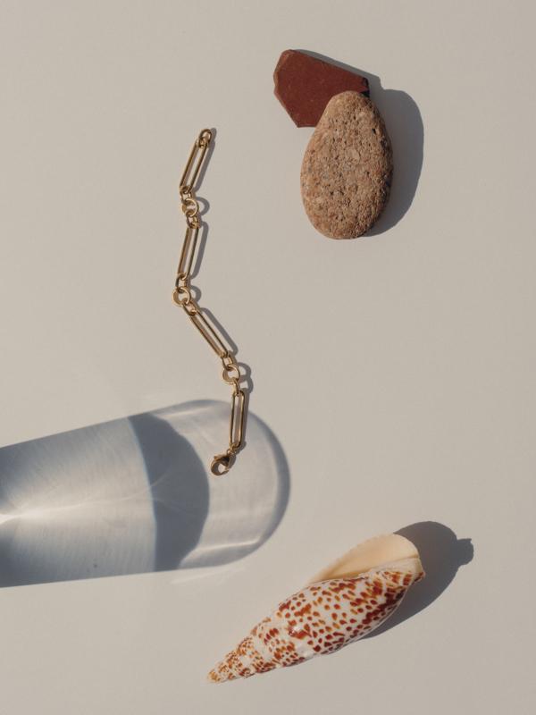 Blancca - French mesh bracelet